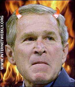 Bush 666 Flames.jpg (29451 Bytes)