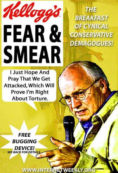 Cheney Fear Smear