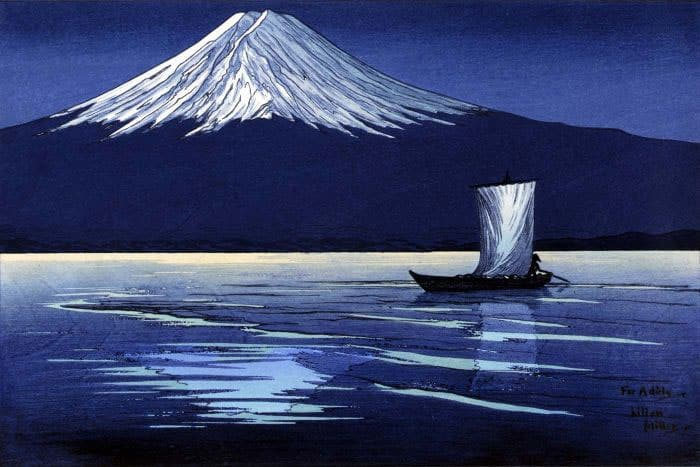Lilian May Miller Moonlight Fuji