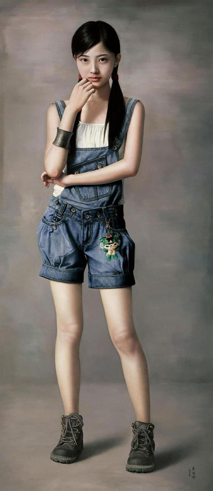 Wu Chengwei Young Girl