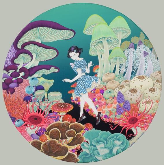 Yuji Moriguchi Mushrooms